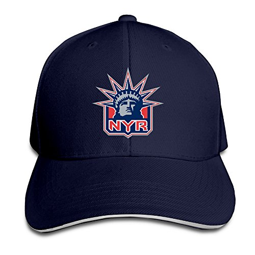 MayDay NY Ranger Baseball Sandwich Hat Navy (Ny Rangers Wine Glass compare prices)
