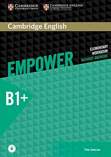 Cambridge English Empower Intermediate Workbook without Answers with Downloadable Audio
