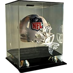 NFL Atlanta Falcons Floating Mini Helmet Display with Museum Quality UV Upgrade,... by Caseworks