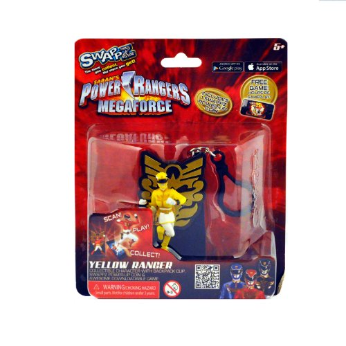 Swappz Power Rangers Mega Force Yellow Ranger
