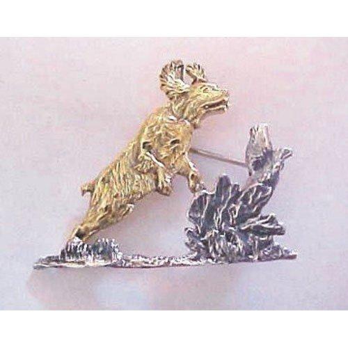 English Springer Spaniel Breed Origin Pin