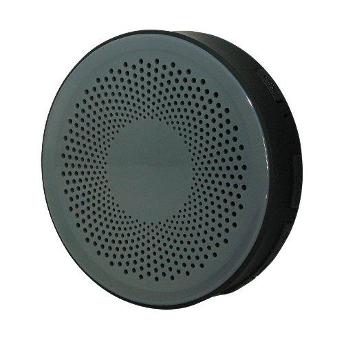 Bluetooth 防水 ワイヤレス オーディオ スピーカー クレー/ブラック お風呂 バス シャワー対応 [Bluetooth3.0][IPX4] iphone スマホ 対応 Hanwha  HS-BWS001-B