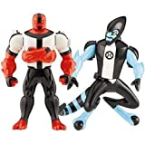 Ben 10 (Ten) Alien Creation Chamber Mini Figure 2-Pack Four Arms and amp; XLR8