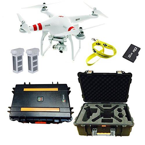 Fantastic Deal! DJI Phantom 2 Vision+ Quadcopter with FPV Hdra, DJI Case, 32GB Micro SD, Lanyard, Ex...
