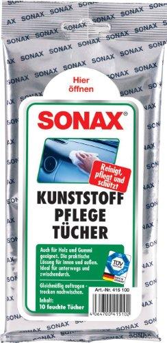SONAX 04151000 Plastic Care Towelettes