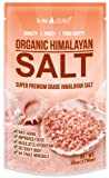 28oz - #1 Rated Himalayan Rock Salt - PREMIUM QUALITY - 84 Trace Minerals - Improved Hydration - Naturally Safer
