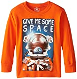 Wes & Willy Little Boys' Give Some Space Long Sleeve Tee