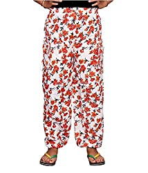 Bright & Shining Women Orange Cotton Pyjama