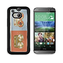 buy Msd Htc One M8 Aluminum Plate Bumper Snap Case Retro Vintage Grunge Reel To Reel Tape Recorder Icon Image 21853474