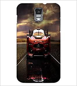 PrintDhaba Car D-4388 Back Case Cover for SAMSUNG GALAXY S5 (Multi-Coloured)