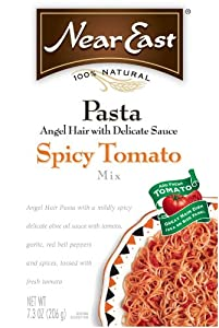 Near East Spicy Tomato Angel Hair Pasta Mix 73-ounce Boxes Pack Of 12 from Near East