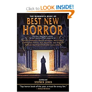 The Mammoth Book of Best New Horror 12 - Stephen Jones