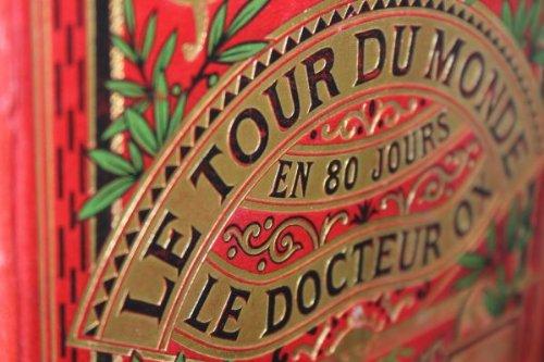 Verne Jules Le Tour Du Monde En 80 Jours - Le Docteur Ox Edition Originale