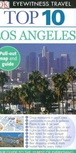DK Eyewitness Travel Guide to Los Angeles Top 10
