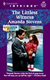 The Littlest Witness (Gallagher Justice, Book 1) (Harlequin Intrigue Series #549)