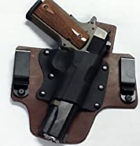Ruger LC9 With Crimson Trace Laserguard Right Hand Pro Carry Hybrid Tuckable Gun Holster BROWN
