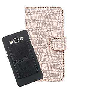DooDa PU Leather Wallet Flip Case Cover With Card & ID Slots For Oppo Neo 5S - Back Cover Not Included Peel And Paste