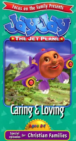 Jay Jay the Jet Plane - Caring and Loving [VHS Tape]