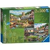 Ravensburger Village Life Puzzles (2 x 500 Pieces)