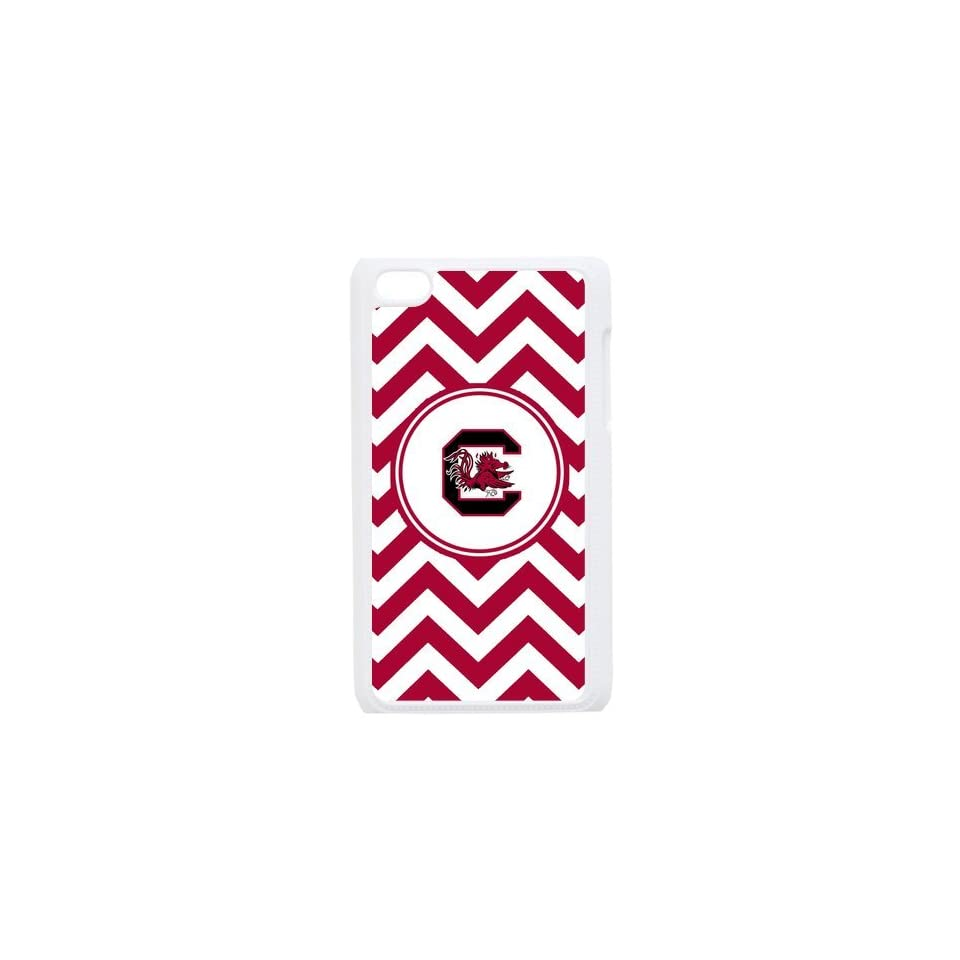 NCAA South Carolina Gamecocks Logo Hard Cases Cover for Ipod Touch 4th Gen   Players & Accessories