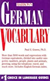 German Vocabulary (Barron's Vocabulary Series)