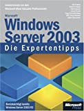 echange, troc Unknown. - Microsoft Windows Server 2003 - Die Expertentipps