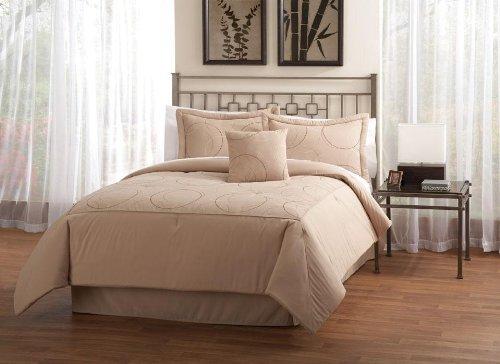 Circlez Taupe King Comforter Set