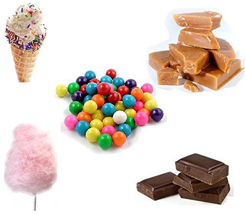 crazygadgetr-e-shisha-flavour-refill-liquid-juice-10ml-x-5-bubblegum-ice-cream-candy-floss-chocolate