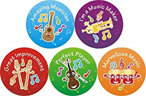 Music Award Praise Stickers