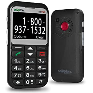 Snapfon ezTWO Senior Cell Phone with Big Buttons