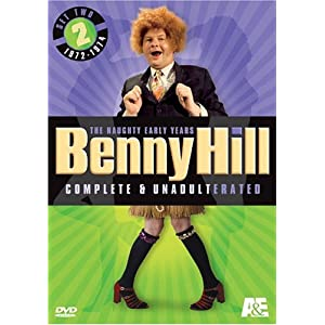 Benny Hill Complete and Unadulterated - The Naughty Early Years, Set Two (1972-1974) movie