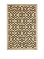 Tapis a Porter Alfombra Casa Sisal Barro/Beige 110 x 170 cm