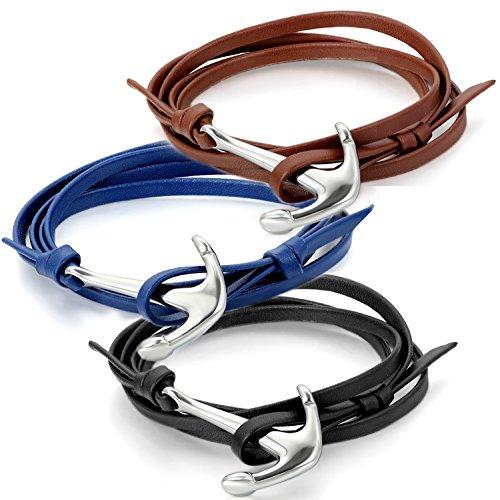 jewelrywe-unisex-anchor-nautical-pulsera-de-piel-ajustable-multi-wrap-pulsera-cierre-de-acero-inoxid