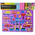 Art And Craft Stencil For Kids - Airport