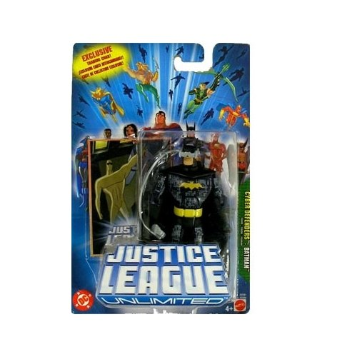 JLA: Justice League Unlimited Batman (Cyber Defenders) Action Figure