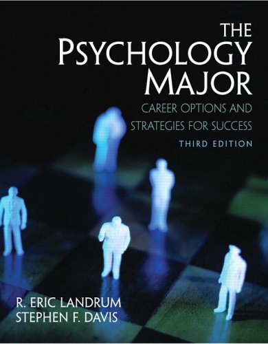 The Psychology Major: Career Options and Strategies for...