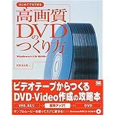 はじめてでもできる高画質DVDのつくり方