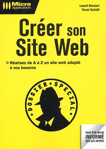 Livre cr er son site web - Creer son livre de cuisine ...