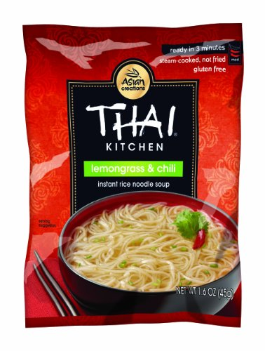 Thai Kitchen Lemongrass + Chili Instant Rice Noodle Soup, Gluten Free, 1.6 oz. (Pack of 72) (Microwavable Pad Thai compare prices)