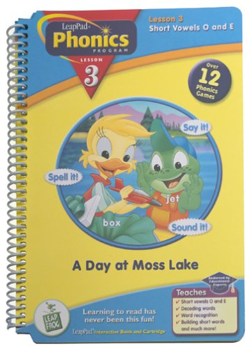 LeapPad Phonics Program Book #3: A Day at Moss Lake
