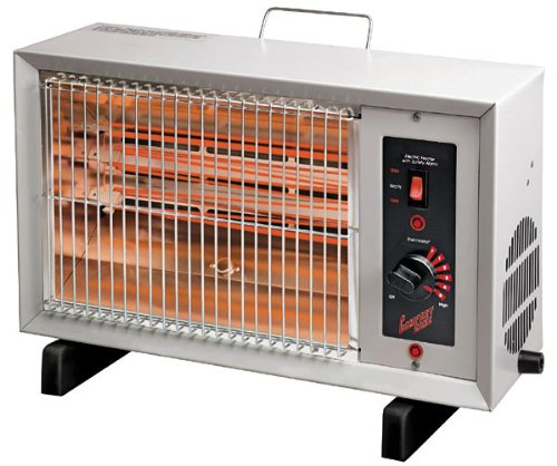 Comfort Zone Electric Radiant Heater CZ530 (Indoor Radiant Heater compare prices)