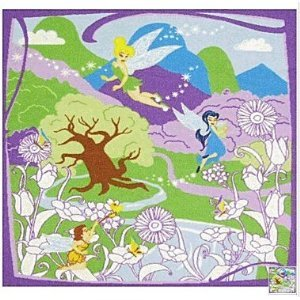 Best Fairies Game Rug – Color Your Own Rug *** Includes 6 Non-Toxic Washable Markers*** for sale