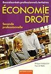 Economie Droit 2e Bac Pro tertiaires