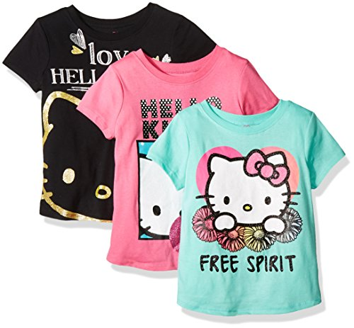 Hello-Kitty-Girls-3-Pack-Tee-Shirt