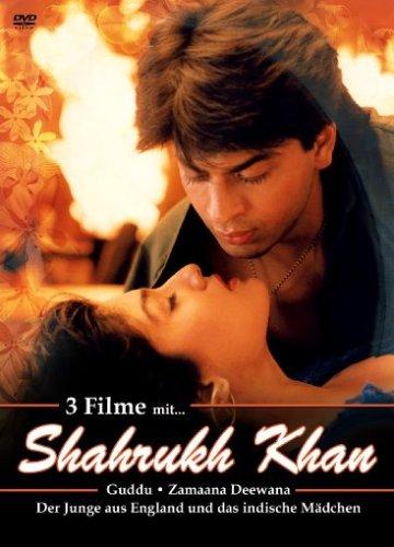 Shahrukh Khan 3er DVD Box, Nr. 2 (Guddu, Zamaana Deewana, Der Junge aus England und das ind. Mädchen)