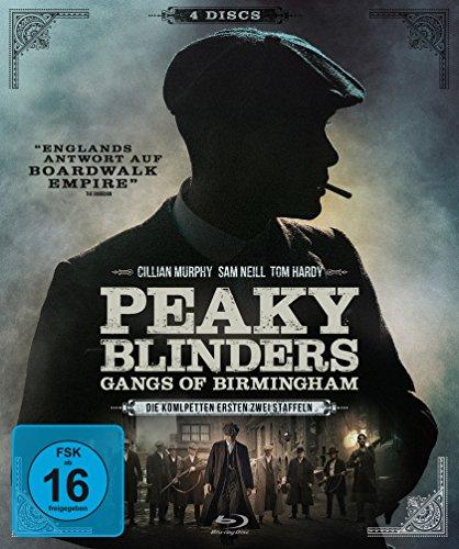 Peaky Blinders - Gangs of Birmingham - Staffel 1 &2 [Blu-ray]