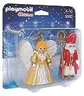 Playmobil 5592 Saint Nicholas and Angel Christmas Edition