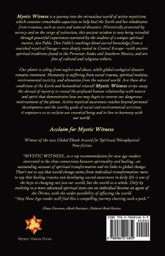 Mystic Witness: Healing Ourselves and the Earth Through Active Mysticism