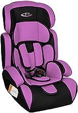 TecTake Silla de coche para niños - Grupos 1/2/3 pesos de 9-36 kg negro/púrpura