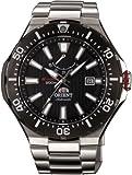[オリエント]ORIENT 腕時計 M-FORCE  エムフォース ダイバーズウォッチ 200m空気潜水(JIS1種) ブラック WV0151EL メンズ